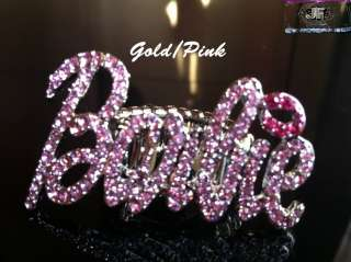NICKI MINAJ Iced Out Barbie Rings in 5 Colors