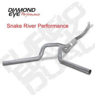 DIAMOND EYE 4 DUAL STAINLESS EXHAUST 04.5 07 DODGE RAM DIESEL TURBO