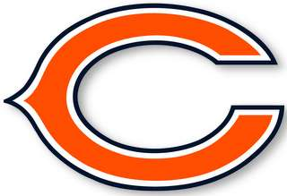 CHICAGO BEARS   NFL Logo wall,window,sticker,decal