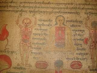 name wonderful amazing rare old antique unique tibetan buddhist hand