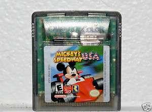 MICKEYS SPEEDWAY USA   Nintendo Game Boy Color 045496731342