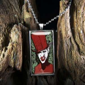 Manson Shock Rock Gothic Metal Band Sterling Silver Necklace 429 RCF