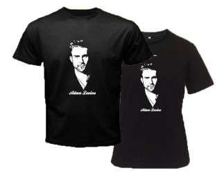 Rock band Maroon 5 Singer Black T Shirt S to 3XL Men & Women