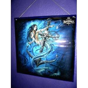 Mermaid of the Death Tide Alchemy Gothic Poster Board