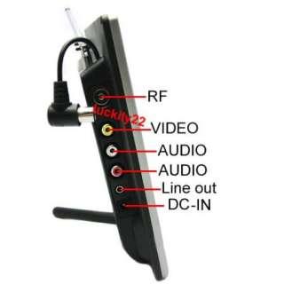 NEW 3in1 8 Inch TFT LCD Color screen TV / AV / VGA Monitor+IR Remote