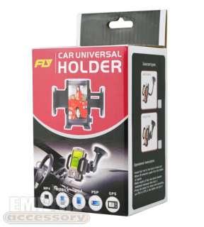 for Sprint HTC EVO 3D CAR CHARGER CRADLE WINDSHIELD DASH MOUNT KIT