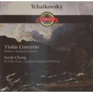: Tchaikovsky, Violin Concerto, Brahms Hungarian Dances, Sarah Chang