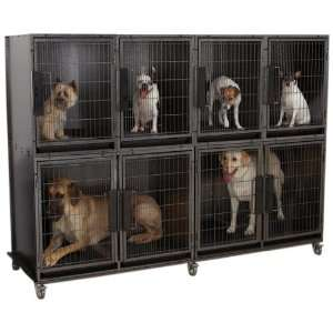 Dog Grooming Kennel Cage
