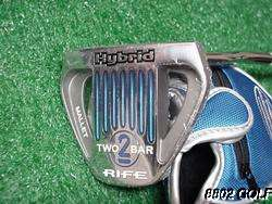 New Guerin Rife Two Bar 2 Hybrid Mallet Belly Putter 43 inch