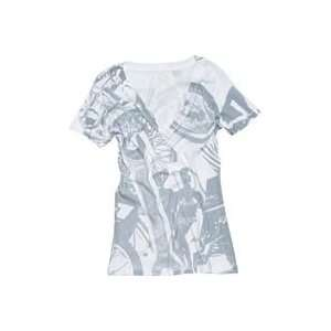 One Industries Womens Avenger T Shirt   Large/White Automotive