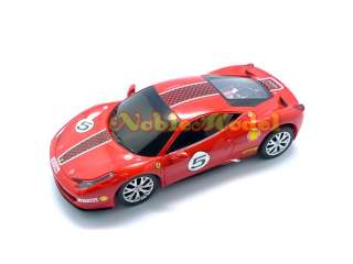 XQ 132 R/C Remote Control Ferrari 458 Challenge Car Model Kit