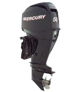 MERCURY 50 HP EFI 4 STROKE OUTBOARD MOTOR BOAT ENGINE 20 SHAFT NEW
