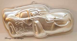 Wilton Disney Pixar Cars Lightning McQueen Car Mold Cake Pan