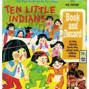 Ten Little Indians Walt Disney  Books
