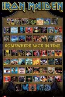 IRON MAIDEN   MUSIC POSTER (ALBUM COVERS)