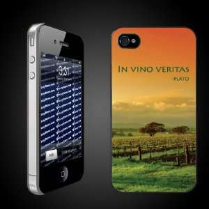 Wine Theme In Vino Veritas   iPhone Hard Case   CLEAR