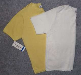 NWT ALFRED DUNNER Petite Womens Sweater Shirt Top Yellow Or White Size