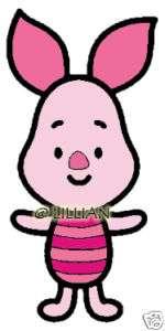 NEW WINNIE THE POOH   BABY PIGLET Cross Stitch KIT