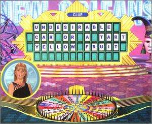Wheel of Fortune 2nd Edition PC CD family tv game show!