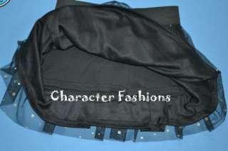 MONSTER HIGH Outfit Set Size 6 6X 7 8 10 12 14 16 Shirt Skirt