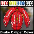 BREMBO RACING STYLE BRAKE CALIPER COVERS NO PAINT (Fits Mustang