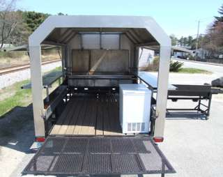 Lobster Bake Cook Out Concession Catering Mobile Food Trailer Cart