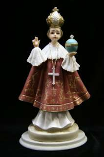 Infant Jesus of Prague Statue Sculpture Vittoria Italy