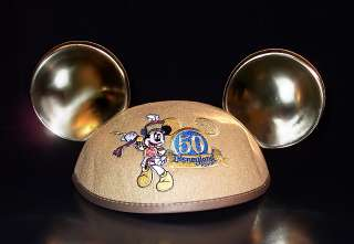 50th Anniversary Disneyland Mickey Mouse Ears Hat /NEW