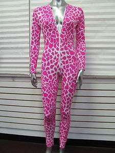 Zip Front Wild Print Catsuit inspired by Nicki Minaj