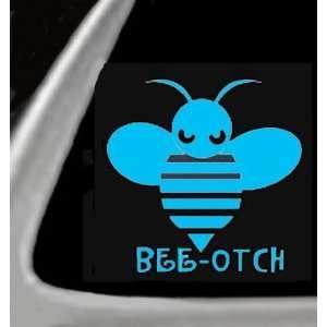 BEE OTCH Bumble Bee Vinyl STICKER / DECAL for Cars,Trucks,Etc. 4.5 LT
