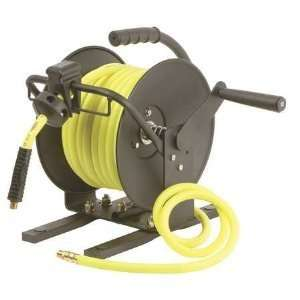 Legacy Manual Portable Air Hose Reel with Flexzilla 3/8 X