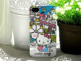 Sanrio Hello Kitty Town iPhone 4 Protecting Cover Case
