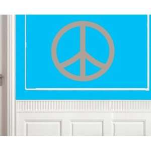 Peace Sign Shapes Vinyl Wall Decal Sticker Mural Quotes