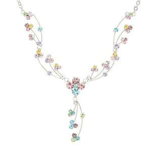 Perfect Gift   High Quality Elegant Rainbow Necklace with Multi color