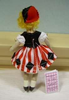 My Little Lenci PhotoDoll ™ ~ OOAK miniature HANDMADE art DOLL cloth