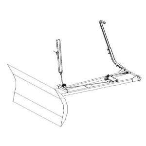 Eagle Plows Hand Lift Kit for ATV Snow Plows. Better Fitting Action