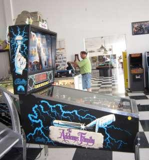 ADDAMS FAMILY PINBALL MACHINE ~ SHOPPED ~ PLAYS GREAT ~ $199 SHIPPING