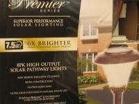 SOLAR Pathway Lighting Kit (8) Pk. High Output LED Yards & Beyond