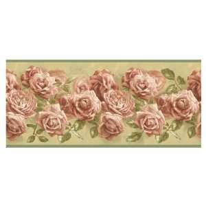IMPERIAL Bouquet Of Roses Wallpaper Border AG042265B: Baby