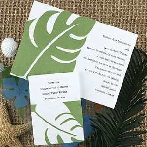 Palm Tree Wedding Invitations TA6132 87 (QTY 100) Health