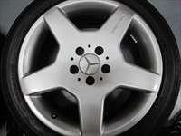 four 99 06 Mercedes S430 S500 Factory AMG 18 Wheels Tires OEM Rims