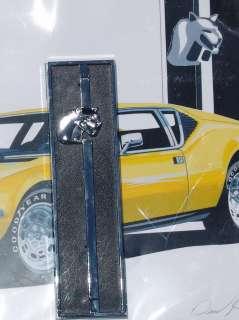 Pantera DeTomaso Radio Delete Plate Ford