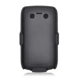 For RIM BlackBerry Bold 9700 Hard Back Case + Holster Belt Clip with
