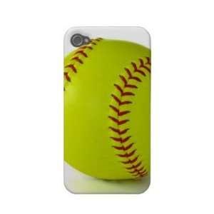 Softball IPhone Case Iphone 4 Cases Electronics