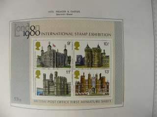 Great Britain Album Collection With #1 Penny BLack Pages to 2005 K560