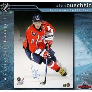 Alexander Ovechkin Washington Capitals 16 x 20 Autographed