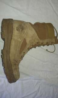 USMC Marines Bates Military Desert Boots 9.5 Wolverine