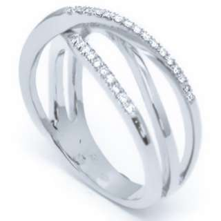 20ct F/VS DIAMOND WEDDING BAND RING 14k WHITE GOLD
