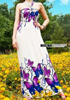 New Lady Strapless women Long Bohemia Maxi Dress 2