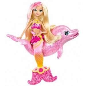 25 Mini Doll & Dolphin: Barbie in a Mermaid Tale Series: Toys & Games